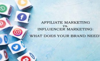 Affiliate vs Influencer Marketing