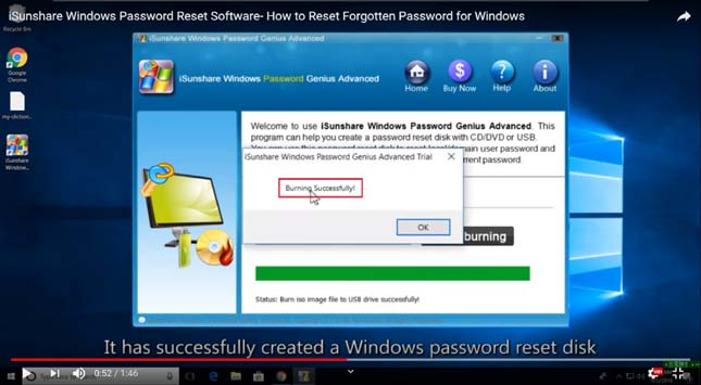 Windows Password Recovery Reset Disk