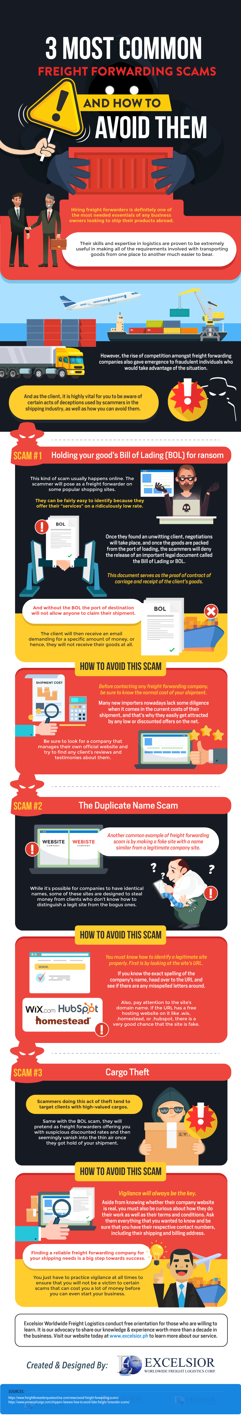 3 Most Common Freight Forwarding Scams
