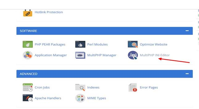 PHP INI Editor