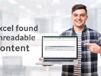 Excel Found Unreadable Content