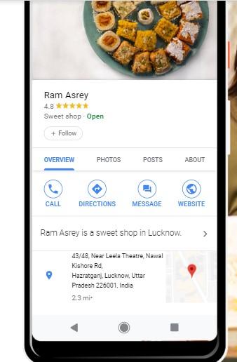 Google My Business Local SEO Tool