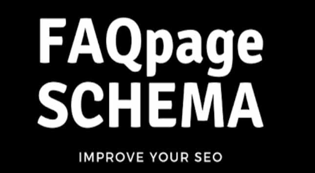 FAQpage Markup Schema