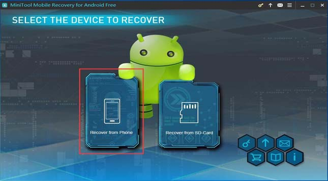 Recover from Phone module