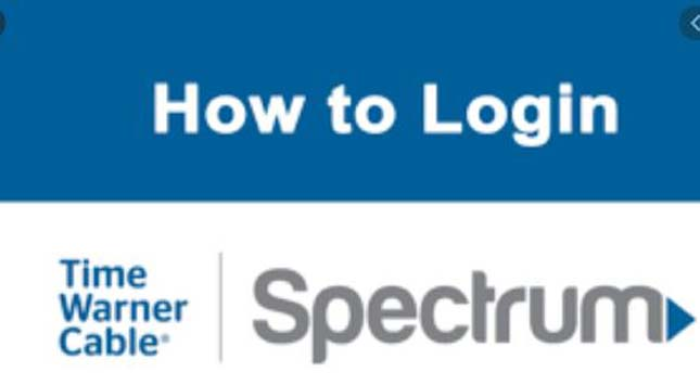 Spectrum Login Account