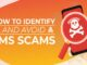 Avoid SMS Scams