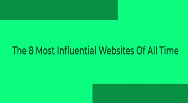 Most Influential Websites