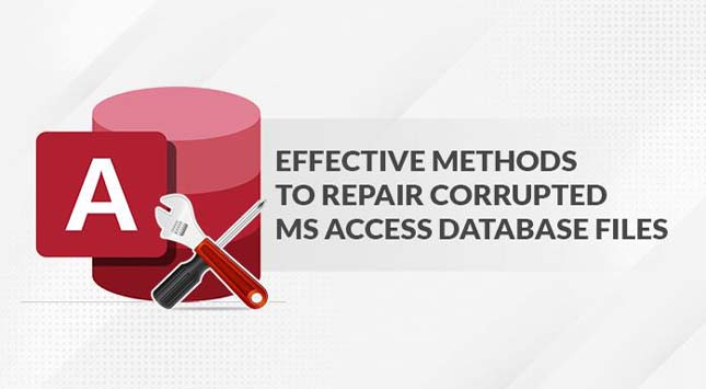 Repair Corrupted MS Access Database Files
